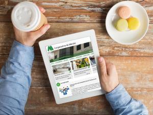 A Cooperativa de Meirás publica o seu novo portal web